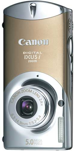 Canon Digital IXUS i zoom Yellow