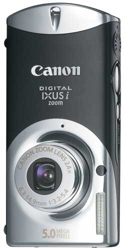 Canon Digital IXUS i zoom Black