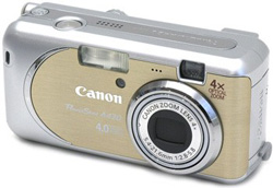 Canon PowerShot A430 Yellow