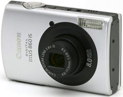 Canon Digital IXUS 860 IS Black