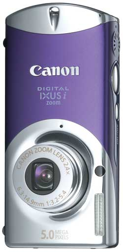 Canon Digital IXUS i zoom Blue