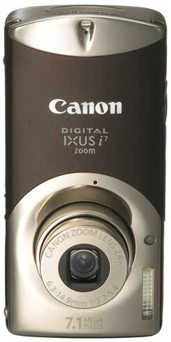 Canon Digital IXUS i7 zoom Black